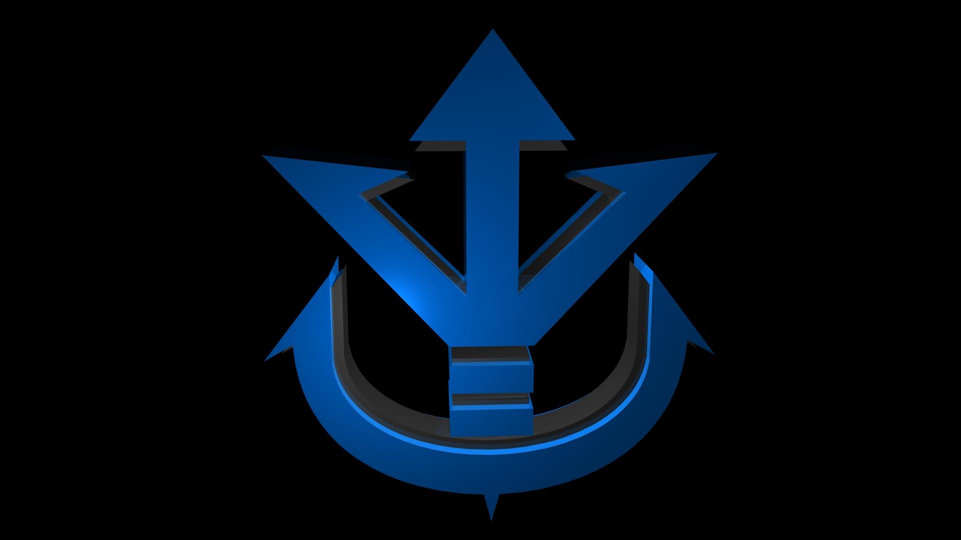 DeviantArt: More Like Wallpaper - King Vegeta 'Saiyan Crest' Logo ...