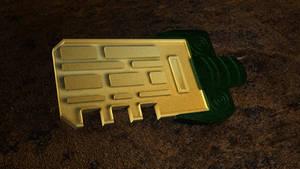 Bioshock - Rapture Key by 100SeedlessPenguins
