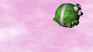 Dragon Ball North Kai's Planet by 100SeedlessPenguins