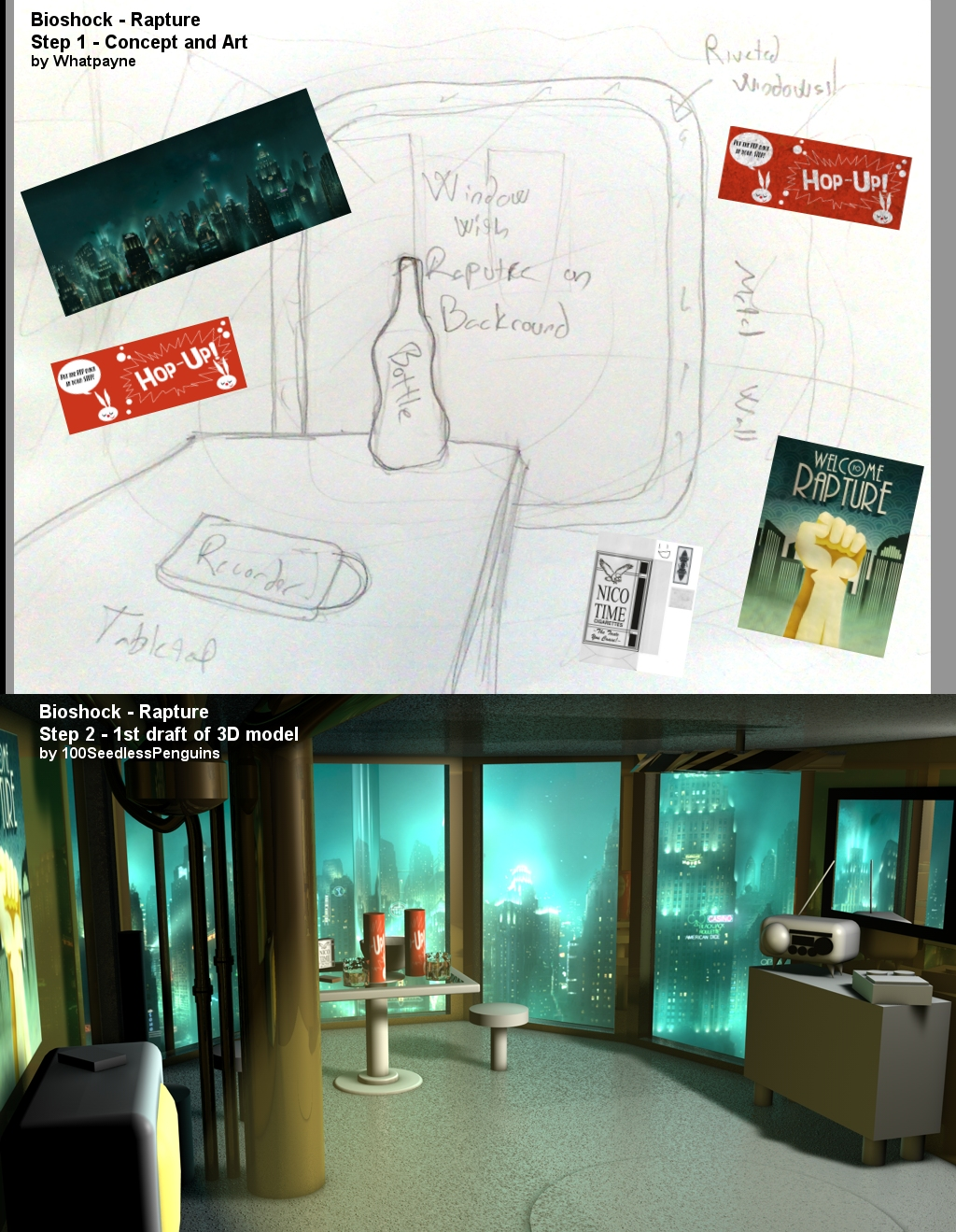 Bioshock - Rapture - Steps 1-2
