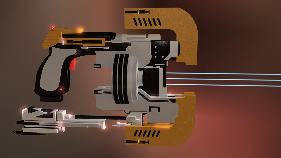 dead space plasma cutter by 100seedlesspenguins on