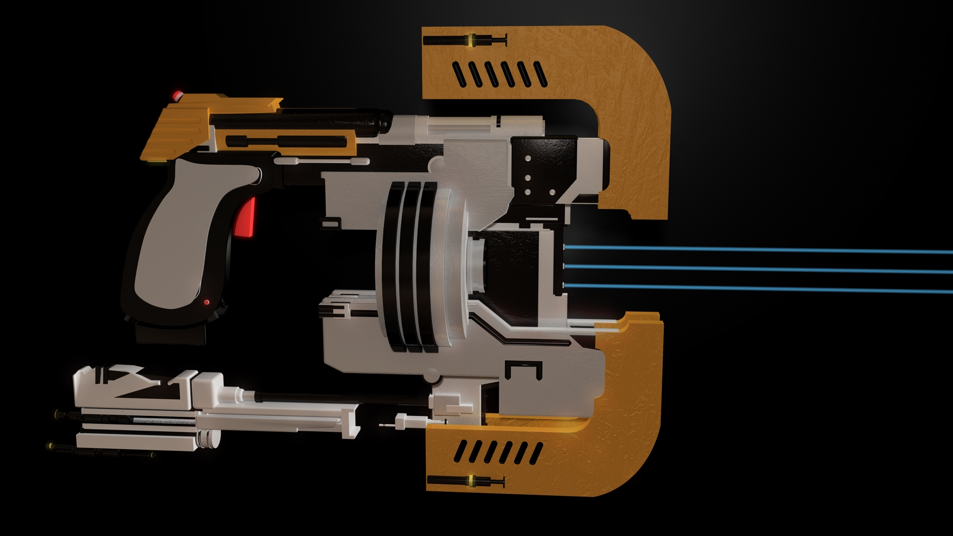 Dead Space Plasma Cutter 2 By 100seedlesspenguins On Deviantart