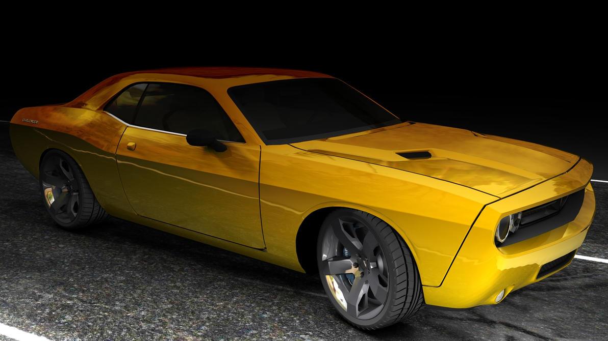 Dodge Challenger RT by 100SeedlessPenguins