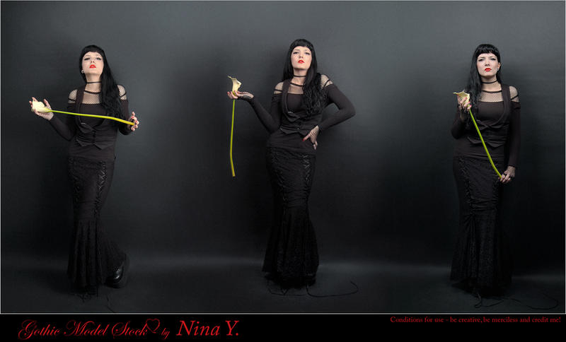 Gothic Model Stock by nina-Y