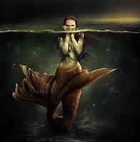 The Screaming Sea by nina-Y