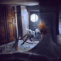 Bettie Dreams of Wolves by nina-Y