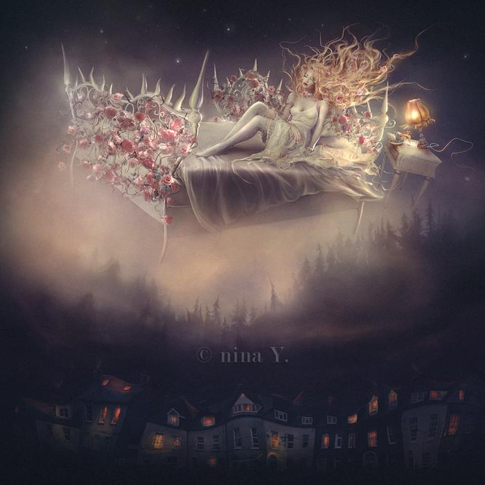 Briar Rose and her bittersweet nightmares by nina-Y
