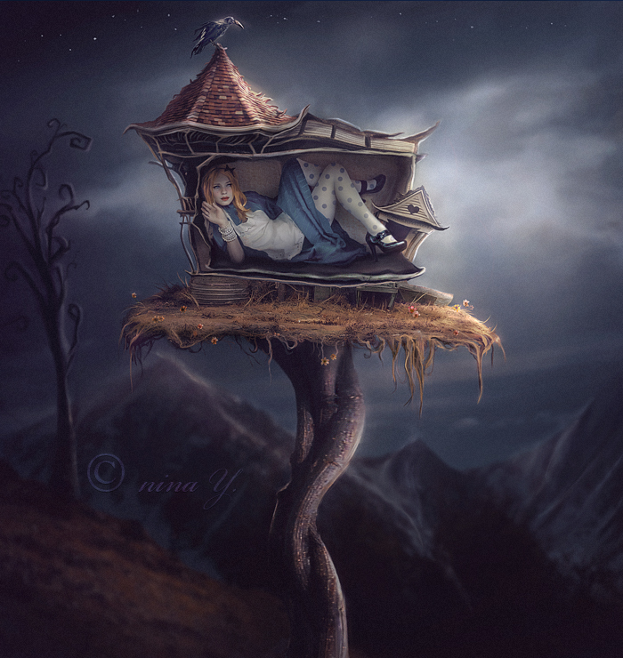 Alice III - White Rabbit's House by nina-Y