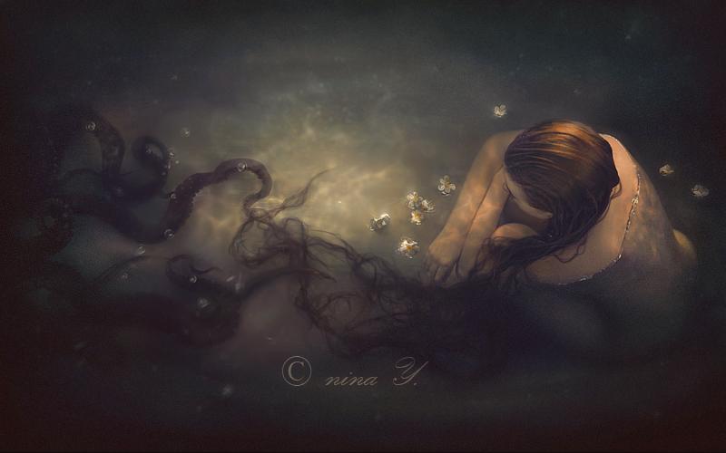 Descending into Darkness by nina-Y