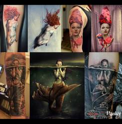 Tattoos of my work