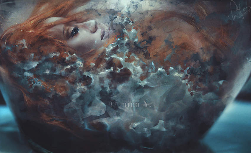 Ophelia's Ocean by nina-Y
