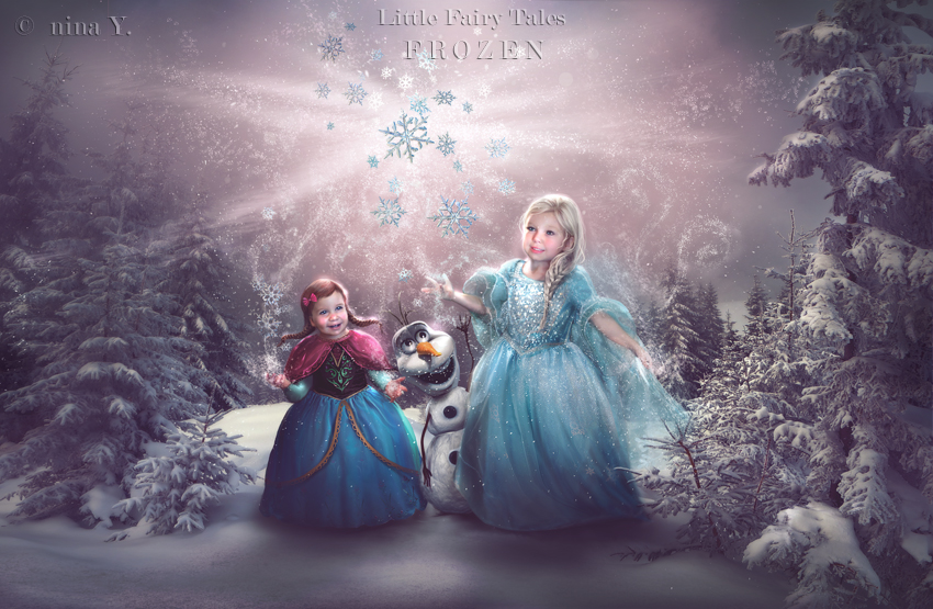Little Fairy Tales - FROZEN by nina-Y