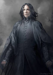 Professor Snape by JaneMere