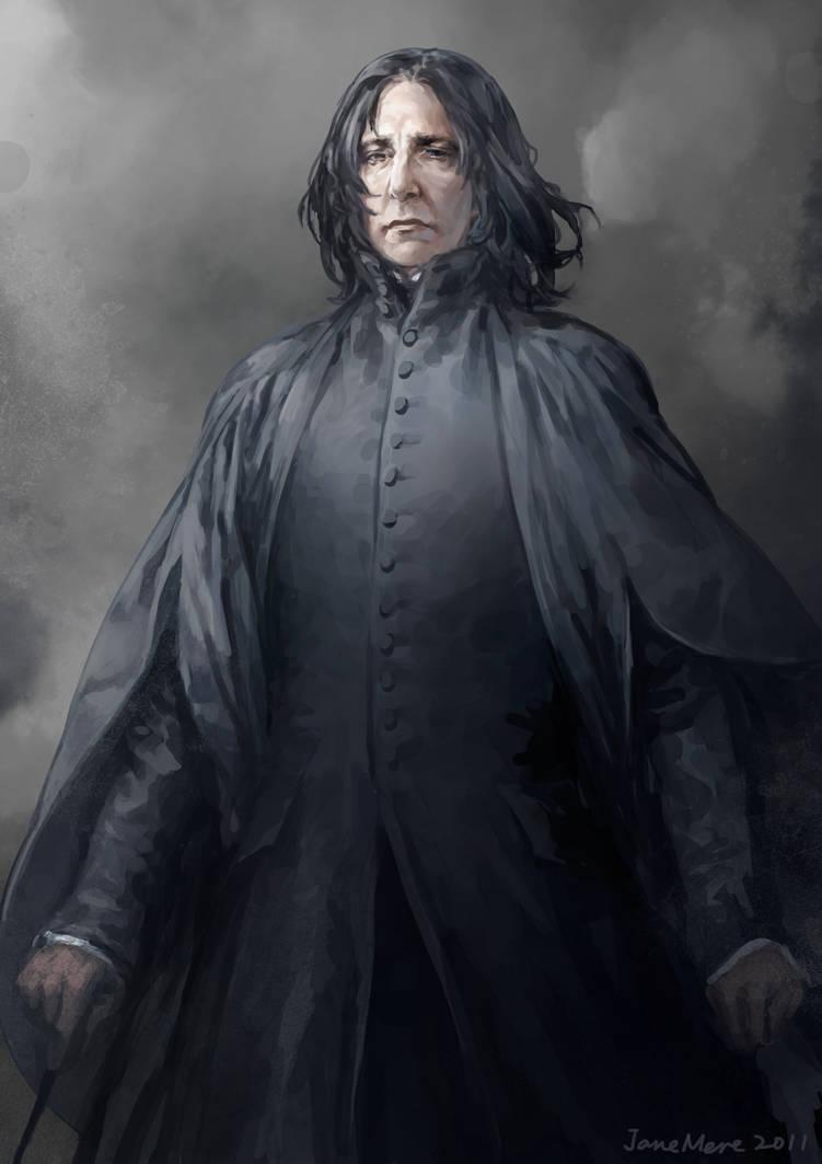 54b27d251e9 Professor Snape by JaneMere on DeviantArt