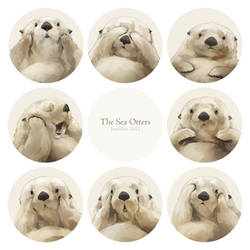 The Sea Otters by JaneMere
