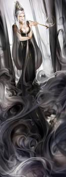 Lady of smoke
