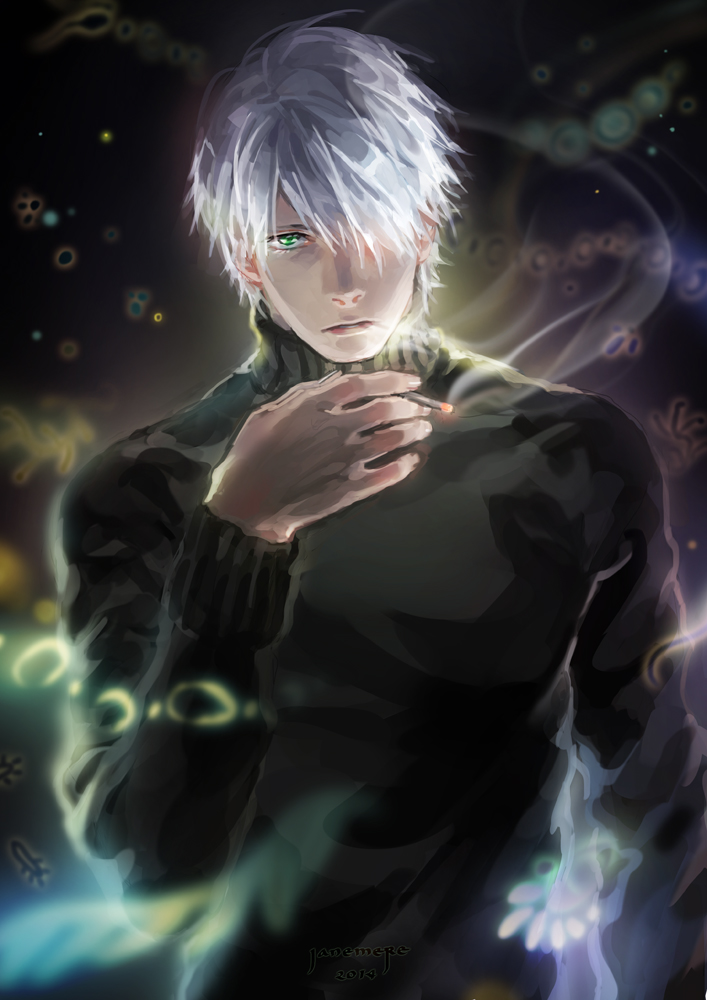 Mushishi - Ginko by JaneMere