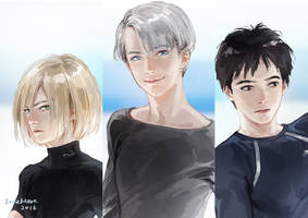 Yuri on Ice by JaneMere