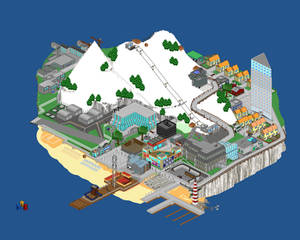 Pixel Island