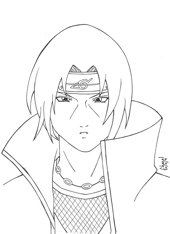 Itachi 3 108967303 on itachi coloring pages