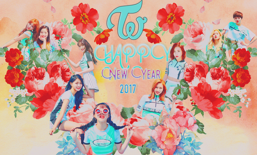 TWICE // CHEER UP // HAPPY NEW YEAR 2017 by ticoelvis