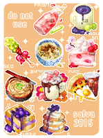 [COM] Foodie icon bid compilation by safva