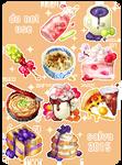 [COM] Foodie icon bid compilation