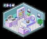 Pixel Art Interior Study