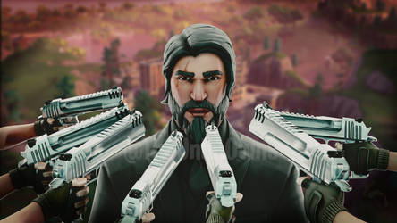 John Wick Needs Your Credit Card by Th3Unkn0wns