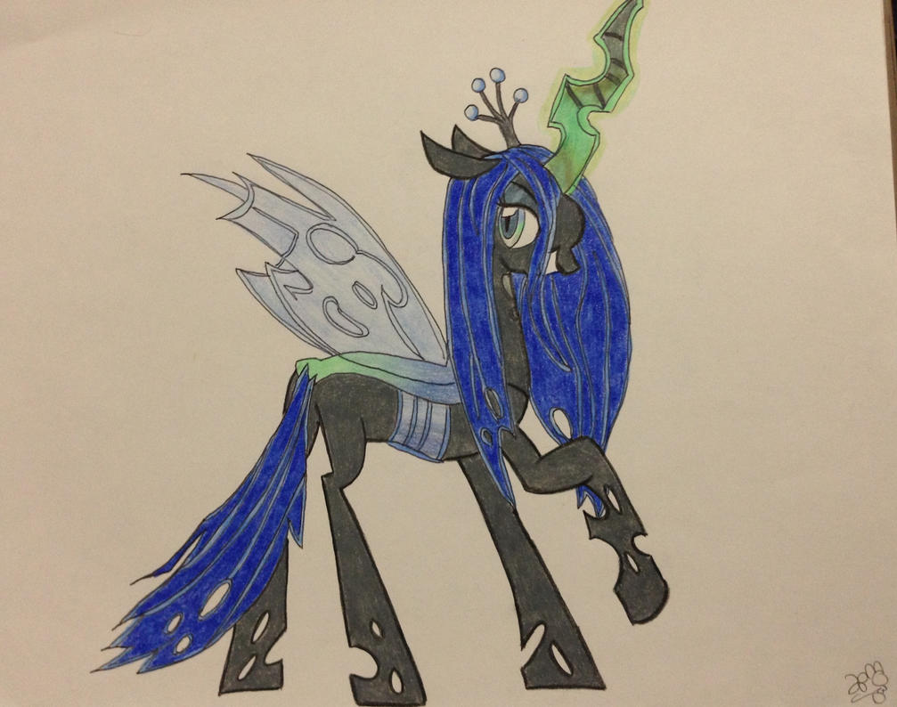 queen chrysalis hipster - photo #45