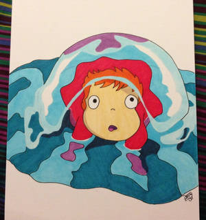 Ponyo, Ponyo, fishy in the sea. . .