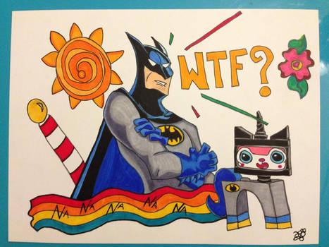 Batman meet Princess UniKitty!