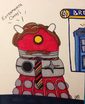 The Burgundy Dalek