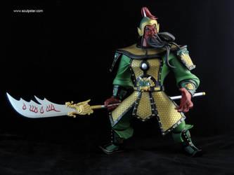 Guan Yu by Sculpster