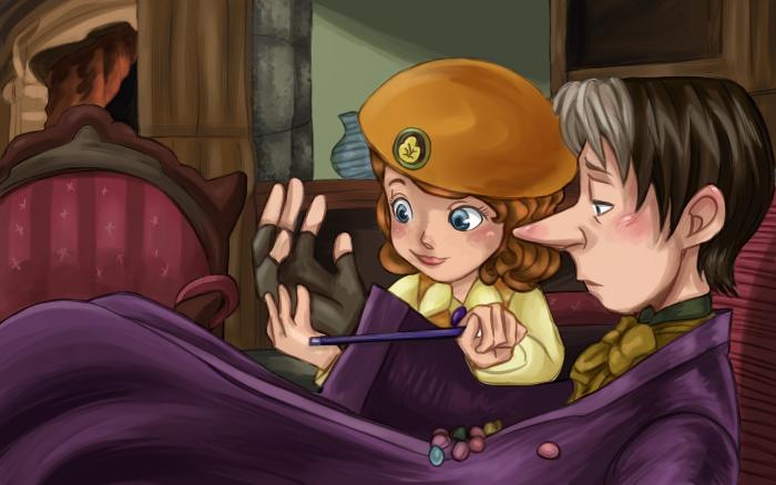 Redraw - Cedric and Sofia by MarsMellon