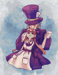 Contest entry - Mad as a Hatter by MarsMellon