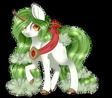 [C] Snowbelle  by OhHoneyBee