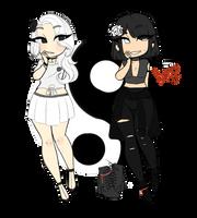 [OCS] Yin and Yang by OhHoneyBee