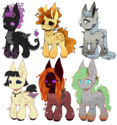 [Collab] Minecraft Adopts CLOSED by OhHoneyBee