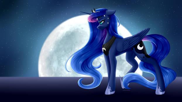 Luna's Reign Redraw + SPEEDPAINT