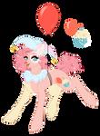 [Redesign] Pinkie Pie + SPEEDPAINT by OhHoneyBee