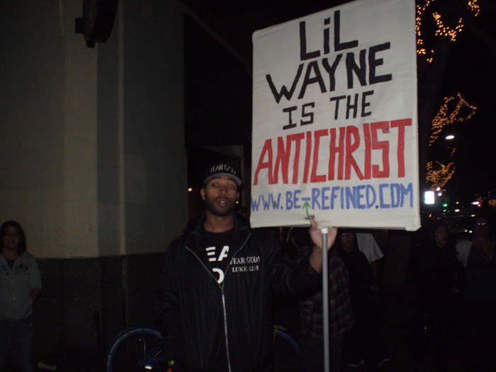 LIL WAYNE IS THE ANTICHRIST by oichii