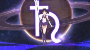 Sailor Saturn Pose