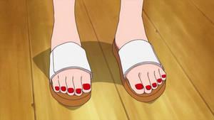 Aoi's Motherly Feet