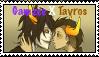 Gamzee X Tavros Stamp by caramel-dixon