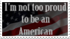 Not Proud To Be American Stamp by caramel-dixon