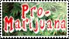 Pro-Marijuana Stamp by caramel-dixon