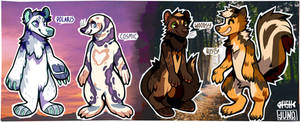 [CLOSED] californiacoyote collab adopts by FlSHB0NES