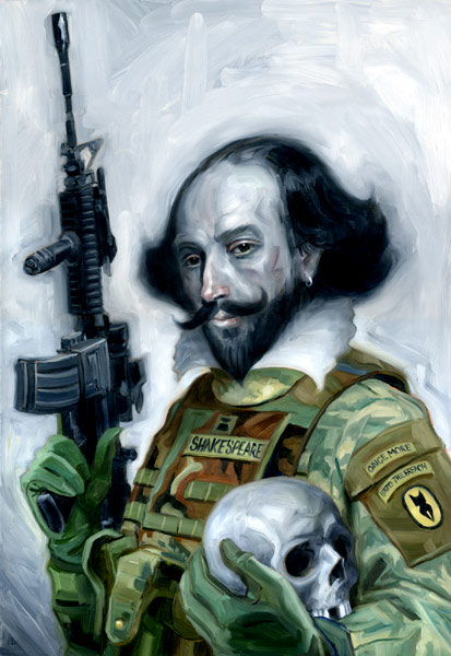 Sgt. Shakespeare by carts