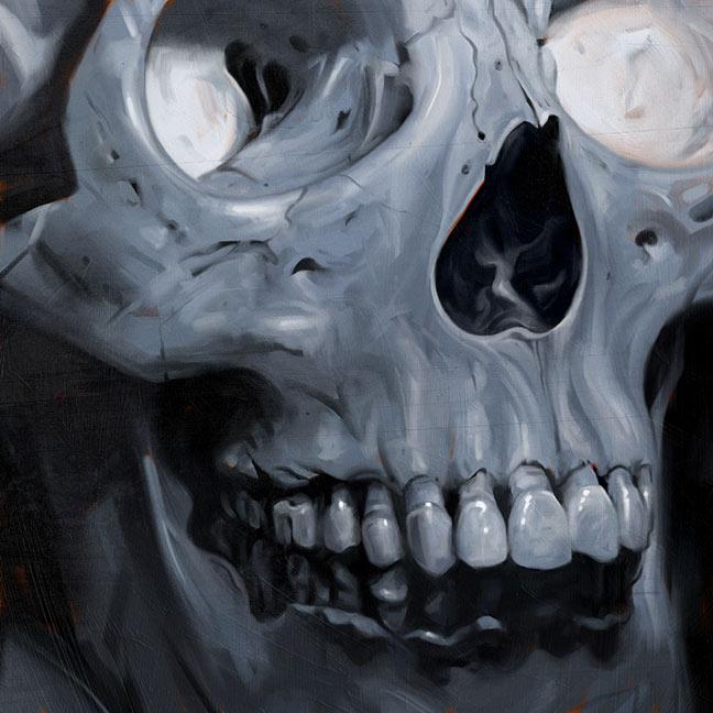 Skull by carts